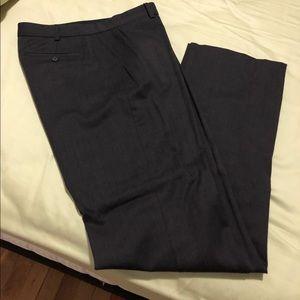 Club Monaco Dark Brown Wool Pants Size 6